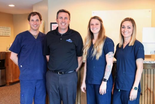 Chiropractor Durango CO Dr. Dustin Ridgway and Team